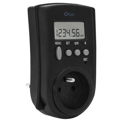 contrôleur de consommation électrique otio | castorama - Puissance Electrique Pour Une Maison Individuelle