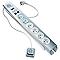 Bloc 6 prises OTIO parafoudre RJ11 + USB