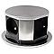 Bloc 4 prises OTIO escamotables compact inox