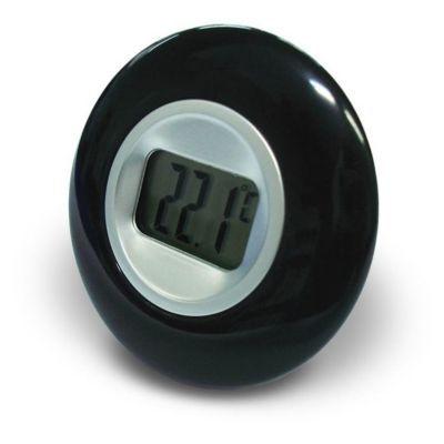Thermomètre intérieur à écran LCD OTIO noir