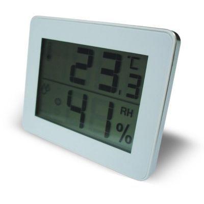 Thermomètre / Hygromètre avec écran LCD OTIO blanc