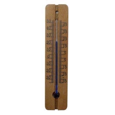Thermomètre bois classique petit modèle OTIO