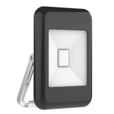 projecteur ext rieur sampa helios r tro noir led 10w castorama. Black Bedroom Furniture Sets. Home Design Ideas