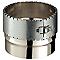 Raccord flexible conduit émaillé 180/150 mm POUJOULAT
