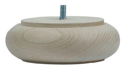 pied de lit model 15 h50 mm 140 mm brut castorama. Black Bedroom Furniture Sets. Home Design Ideas