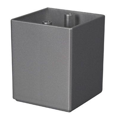 pied de meuble cube 64 mm castorama. Black Bedroom Furniture Sets. Home Design Ideas