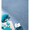 Moquette aiguillet'e bleue Malta 4 m