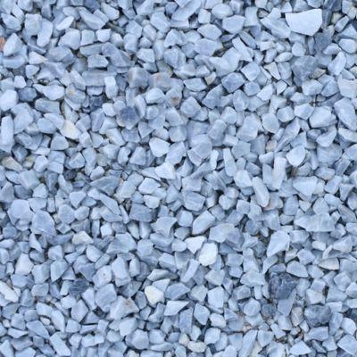 Gravier de marbre bleu 6/14 750 kg | Castorama