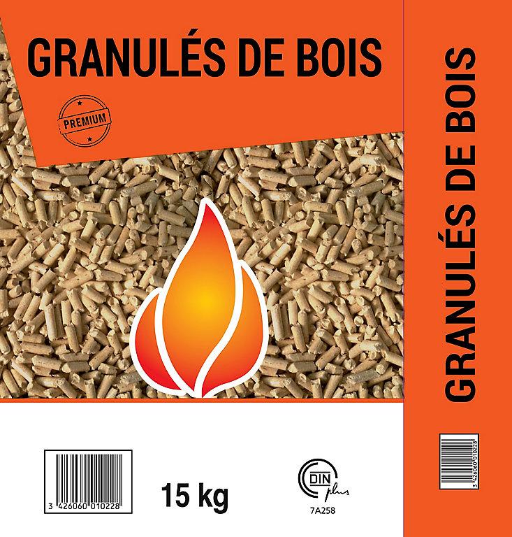 Granules De Bois 15 Kg Castorama