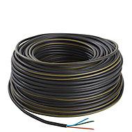 Câble électrique U1000R2V 3X2,5 mm² 100 m