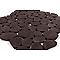 Galets noir brillant 30 x 30 cm