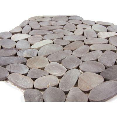 galets gris 30 x 30 cm castorama. Black Bedroom Furniture Sets. Home Design Ideas