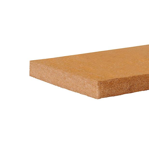 Panneau De Fibre De Bois Soprema 122 X 57 5 Cm Ep 40 Mm R 1 05 Ma K W Vendu Par Lot 10 Panneaux Castorama