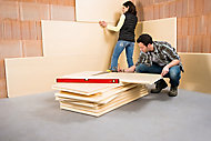 Panneau polystyrène extrudé emboîtable multi-usage Soprema 125 x 60 cm ép. 100 mm R. 2,80 m²K/W (vendu au panneau)