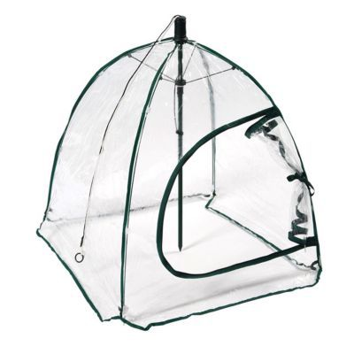 Serre souple parapluie carrée JANY FLORE