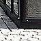 Embase pour Serre Kiosque Hera noire