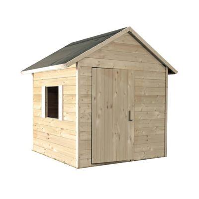 Cabane enfant bois Soulet Lilas