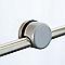 Supports pour plaque verre Inoline white x4