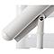 Escalier hélicoïdal métal Industria white Ø125 cm 11 marches acier laqué blanc