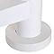 Escalier hélicoïdal métal Industria white Ø125 cm 13 marches acier laqué blanc