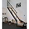 Escalier 1/4 tournant gauche métal et bois Spark Led 13 marches chêne