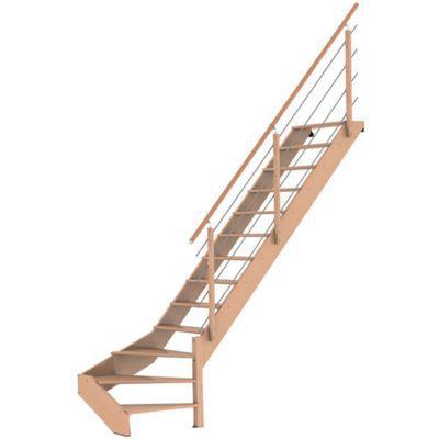 escalier droit novah