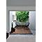 Lame de terrasse en thermo-frêne brun moyen BURGER I-Clips L.200 x l.12 cm