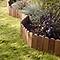 Bordure à planter bois Dune L.115 x h.15 cm