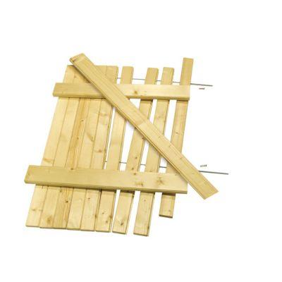 Kit volet battant en bois 57,5 x h.135 cm | Castorama