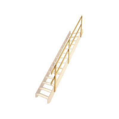 Rampe Pour Escalier Droit 1/4 Tournant Normandie   Castorama