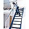 Escalier droit bois BURGER Normandie l.80 cm 14 marches hêtre