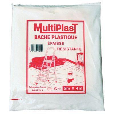 Bâche De Protection Multiplast épaisse 4 X 5 M Castorama