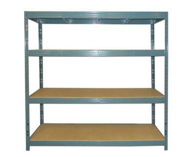 etagere metal l.200 x p. 60 x h. 180 cm