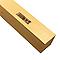 Tasseau en sapin brut noueux 47 x 47 mm L.2,4 m