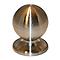 Bouton de meuble métal COLOURS Nagae chromé mat Ø25 mm