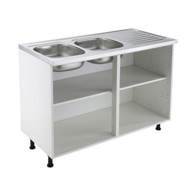 Meuble sous-évier blanc COOKE & LEWIS 120 cm | Castorama
