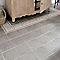 Carrelage sol et mur gris 20 x 20 cm 1930 (vendu au carton)