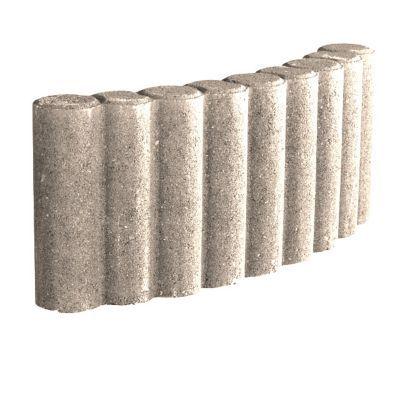 Ultra Bordure colonnade courbe ton pierre | Castorama VB-62