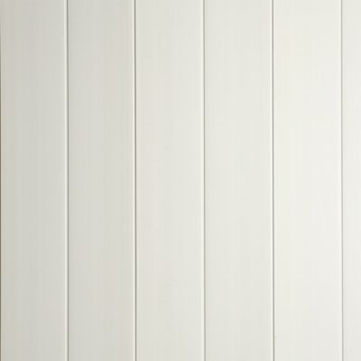 Lambris Pvc Blanc Go 2600x375x8mm Vendu A La Botte Castorama