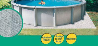tapis de sol pour piscine diall 4 m castorama. Black Bedroom Furniture Sets. Home Design Ideas