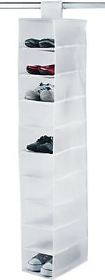 Range Chaussures A Suspendre Snow Blanc 9 Cases 15 X 30 X 128 Cm Castorama