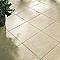 Carrelage terrasse crème 45,5 x 45,5 cm CASTORAMA Asiago (vendu au carton)