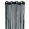 Rideau de fils COLOURS Teze noir 110 x 240 cm