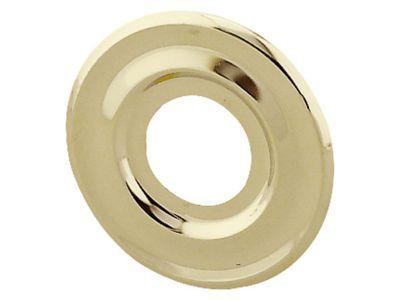Rosace pour appliques laiton poli 21 mm diall castorama for Rosace sol exterieur