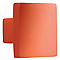 Bouton de meuble plastique COLOURS Funny square orange