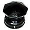Bouton de meuble verre COLOURS Diamant noir