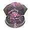 Bouton de meuble verre COLOURS Diamant pourpre