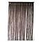 Rideau de fils CASTORAMA Defil' chocolat 110 x 240 cm