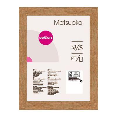 Cadre Photo Chene Colours Matsuoka 18 X 24 Cm Castorama