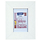 Cadre photo blanc CASTORAMA Lissea 10 x 15 cm